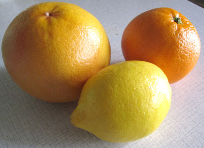 citrus fruits juice is great during colds